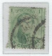 COB  13  (°) - 1863-1864 Médaillons (13/16)