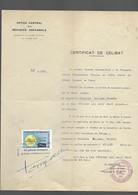 Timbre Fiscal  Fiscaux  Réfugiés Espagnols - Revenue Stamps