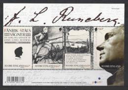Finlande 2004 Bloc  Neuf N°32 Runeberg - Hojas Bloque