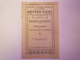 GP 2021 - 73  CATALOGUE 1926  KETTEN  Frères  Luxembourg  ROSIERS NOUVEAUX  XXX - Non Classificati