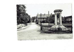Cpm - 71 - FONTAINES - Rue Des Maréchaux Et Le Monument Aux Morts - Imp. Bourgeois - 1950 - Altri Comuni