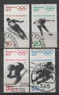 Allemagne R.F.A 1971 Oblitéré Michel : 680- 683 - Usados
