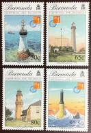 Bermuda 1997 Hong Kong Lighthouses MNH - Bermuda
