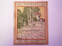 GP 2021 - 77  CATALOGUE  THUREAU  1934  :  Matériel Horticole  -  Basse-cour Et Divers  -  TB Illustré   XXX - Sin Clasificación