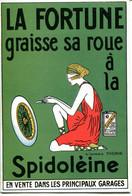 """GUIDE DE GRAISSAGE POUR AUTOMOBILES.HUILE """"SPIDOLEINE """" S.A.A.ANDRE FILS 8 RUE DE LA TOUR DES DAMES PARIS. - Sin Clasificación"""