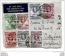 158 - 21 - Fragment D'enveloppe Envoyée D'Accra En Suisse 1940 - Goldküste (...-1957)