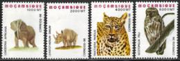 Mocambique – 1996 Endangered Animals Mint Set - Mozambique