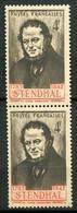 20994 FRANCE N°550c**(Maury) 4F. Stendhal : Signature Rouge Tenant à Normal   1942  TB - Variétés: 1941-44 Neufs