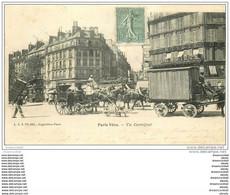 PARIS 10. Attelage Livraison, Fiacre, Hippomobile Carrefour Rue Fidélité Et Bd De Strasbourg 1904. Dentiste à L'étage - Arrondissement: 10