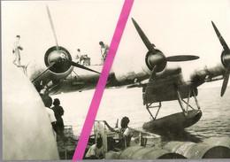 HYDRAVION   HEXAMOTEUR   LATECOERE   631   LE PLEIN D'ESSENCE  A  PORT - ETIENNE (MAURITANIE)  *    LE  05/07/1947  * - 1946-....: Modern Era