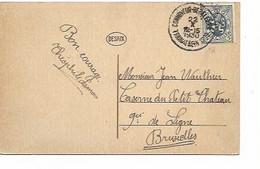 SH 0840. N° 285 CONVOYEUR- BEGELEDER/TRAIN-TREIN 1209 - 22.X.1930 S/CP (Heer-Agimont) V. Militaire 9e De Ligne. TB - Ambulants