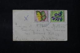 CONGO BELGE - Petite Enveloppe Pour La France, Affranchissement Flore - L 90225 - 1947-60: Covers