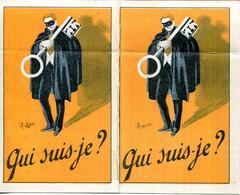 PARIS.CARTE DE VISITE D'UN DETECTIVE PRIVE. - Sin Clasificación