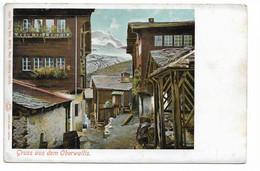 L100H1360 - Suisse - Gruss Aus Dem Oberwallis - Photo Kilchberg -  Carte Précurseur - VS Valais
