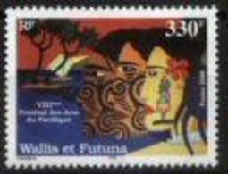 WALLIS AND FUTUNA, 2000, FESTIVAL OF ART, YV#541, MNH - Unclassified