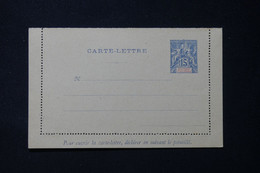 ANJOUAN - Entier Postal ( Carte Lettre ) Type Groupe, Non Circulé - L 90230 - Lettres & Documents