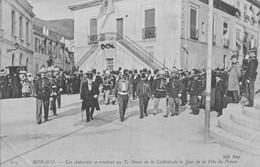 H0203 - MONACO - Les Autorités Se Rendant Au Te Deum De La Cathédrale Le Jour De La Fête Du Prince - Altri