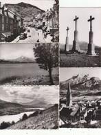 PETIT LOT DE 9 PHOTOS ORIGINALES : LA MURE (ISERE) FORMAT 8,8/6.3CMS.AOUT 1956.ETAT PARFAIT A SAISIR PORT : 1.20E - Lugares