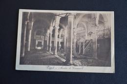CARTOLINA MILITARE COLONIA ERITREA TRIPOLI MOSCHEA DI CARAMANLI VG 1912 TIMBRO CORPO ARMATA FRANCHIGIA - Altre Guerre