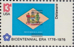 U.S. 1203-1252 (complete Issue) Unmounted Mint / Never Hinged 1976 Independence - Flags - Neufs