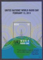 NEVIS (WEST INDIES) 2013 - United Nations World Radio Day, Souvenir Sheet MNH - Antillas Holandesas