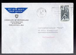 CANADA Vancouver 1968 - Briefe U. Dokumente