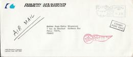 CANADA LETTRE EN PORT PAYE PÖUR LA FRANCE 1978 - Cartas