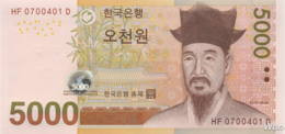 South-Korea 5000 Won (P55) (Pref: HF) 2006 -UNC- - Korea, South