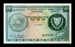 # # # Banknote Zypern (Cyprus) 500 Mils 1979 AU # # # - Cyprus