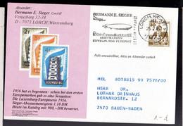 Deutsche Bundespost  1985 Hermann E. Sieger Briefmarken Zeppelin Un Flugpost - Sin Clasificación