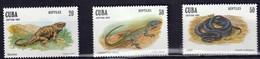 CUBA - Faune, Reptiles - MNH - 1982 - Neufs