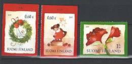Finlande 2009  Neufs N°1962/1964 Noël - Nuevos