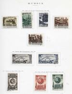 95273) RUSSIA -LOTTO DI FRANCOBOLLI -USATI-MLH*-1946 - Gebraucht