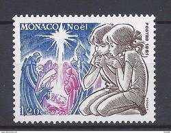 ⭐ Monaco - YT N° 1299 - Neuf Sans Charnière - 1981 ⭐ - Unused Stamps