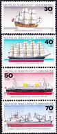 BRD FGR RFA - Schiffe (MiNr: 929/32) 1977 - Postfrisch MNH - Nuevos