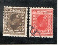 YOUGOSLAVIE     1926-27  Y.T. N° 172  Oblitéré - Gebraucht