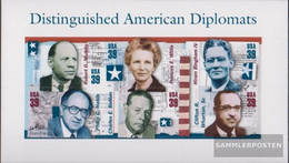 U.S. Block61 (complete Issue) Unmounted Mint / Never Hinged 2006 Diplomats - Nuevos
