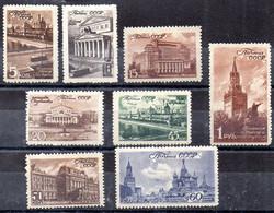 Rusia Serie Nº Yvert 1051/58 * - Ungebraucht