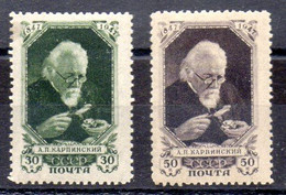 Rusia Serie Nº Yvert 1086/87 ** - Ungebraucht
