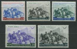 San Marino - 1949 100° Ritirata Di Garibaldi MNH** Posta Aerea - Nuovi