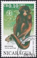 NICARAGUA, 1990, Animaux (faune)   Mammifères   Singes - Monkeys