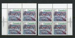 "Canada MNH PB's 1974 ""Chrismas"" - Non Classés"