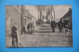 Moorslede : Très Animée Avec Attelage Et Cordiers (vieux Métiers) - Moorslede