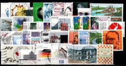 # 2000 Germania Federale - 38 Francobolli Usati - Oblitérés