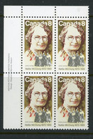 """Canada MNH PB 1973 """"Nellie McClung"""" - Non Classés"""