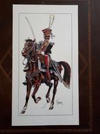 Affiche : Officier Des Lanciers Polonais De La Garde Premier Empire - Dokumente