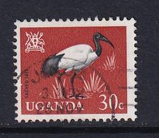 Uganda: 1965   Birds   SG117    30c    Used - Uganda (1962-...)