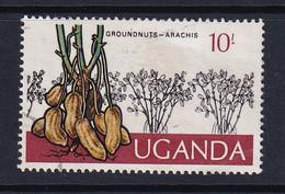 Uganda: 1975   Ugandan Crops  SG160    10/-    Used - Uganda (1962-...)