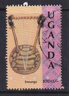 Uganda: 1992   Traditional Musical Instruments  SG1109    1000/-    Used - Uganda (1962-...)