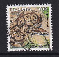 Uganda: 1996/98   Reptiles  SG1514    100/-    Used - Uganda (1962-...)